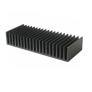 6063-T5 Anodized black Aluminum Heat Sinks